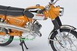 Zündapp KS50 Super Sport Orange 1:10 _26