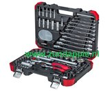 """Gedore-red R46003092 dopsleutelset 1/4"""" - 1/2"""" 94-dlg._26"""