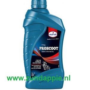 Olie Eurol Pro-Scoot TT-X  Semi Synthetic 1 liter