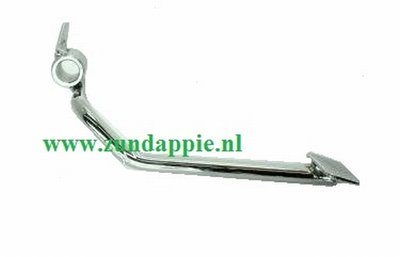 Voetrempedaal 4 v chroom 517