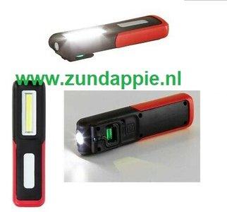 Zaklamp led Gedore met USB oplaadsnoer R9570 0023