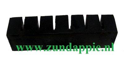 Cilinder rubber kort