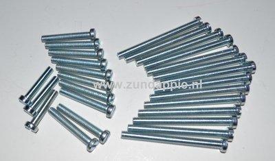 Motorblok boutenset K80/KS80. 27 delig 314-317.24