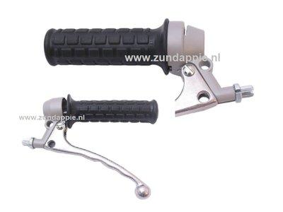 Gas / koppelings greep model magura zilver 517