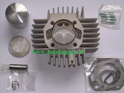 Cilinder + zuiger 45mm maxwell nicasil/alu 6 poorter o.m.