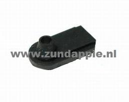 Doorvoer rubber zwart 285-07.105