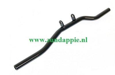 voetsteun onderbouw zwart zonder rubbers 517-14.610