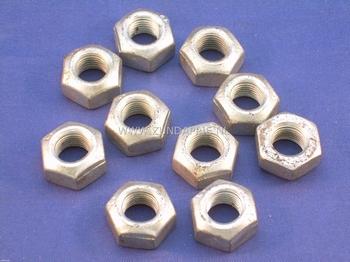 Achterbrug as moer M 10*1 per stuk geschikt voor Ribe as 517