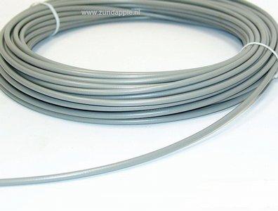 Buitenkabel oud grijs. per meter geschikt voor binnen kabel 1,5