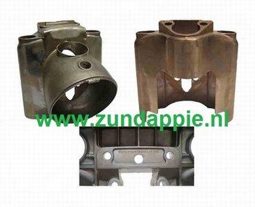 .Koplamphuis KS 50 / 100 model aluminium 517-12.111  517-12.202
