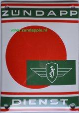 Zundapp-emaille-Bord--Service--40-x-60-cm-met-rode-stip