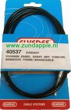 Voorrem-kabel-zwart-Elvedes-met-vaste-nippels